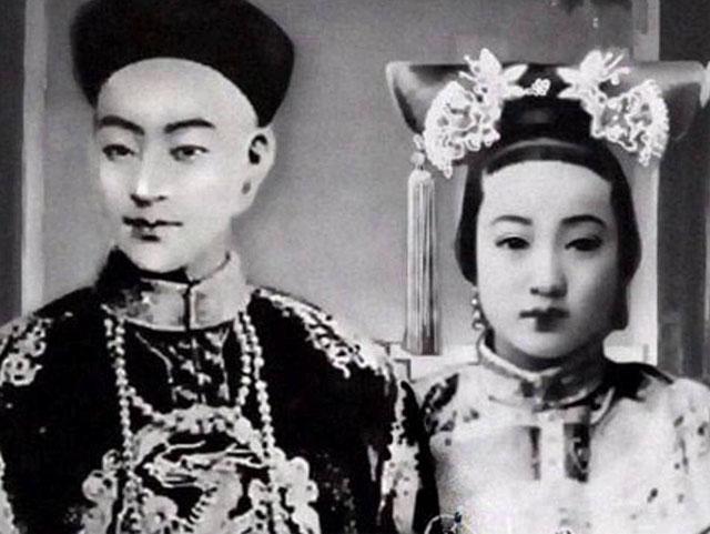 光绪皇帝和皇后