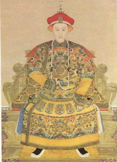 光绪皇帝画像